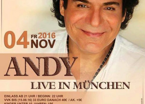 Andy Live In Munich