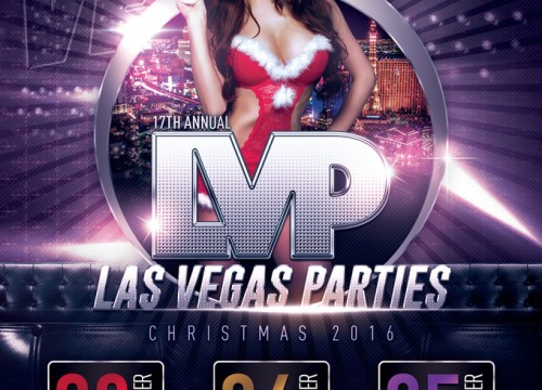Las Vegas Christmas Party at MARQUEE