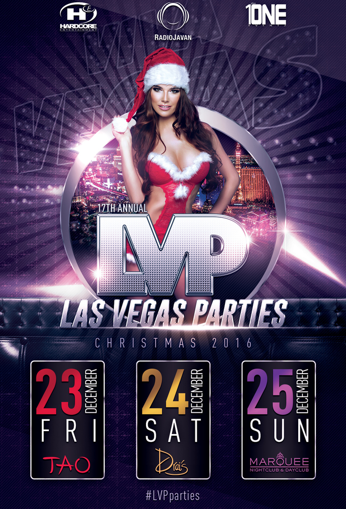 Las Vegas Christmas Party at DRAI'S