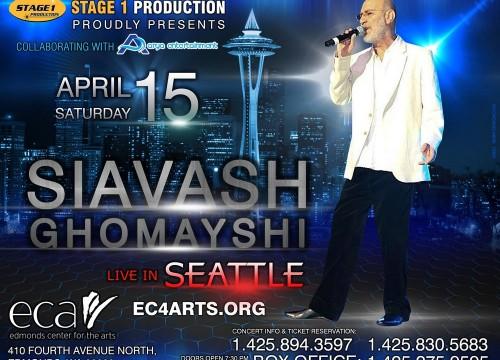 Siavash Ghomayshi Live In Seattle