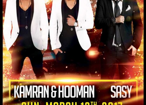 Kamran & Hooman and Sasy Live in Concert