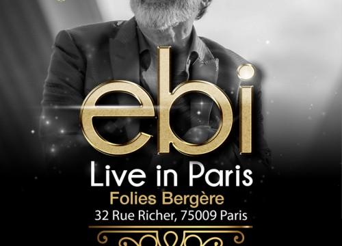 Ebi Live In Paris