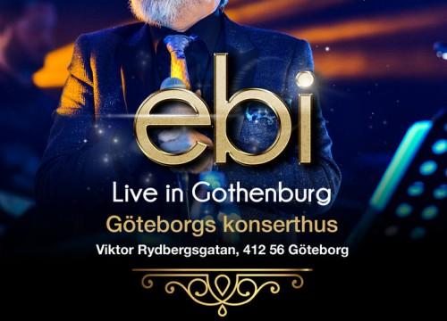 Ebi Live in Gothenburg
