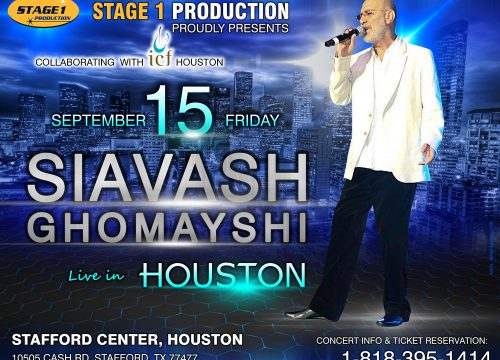 Siavash Ghomayshi Live in Houston