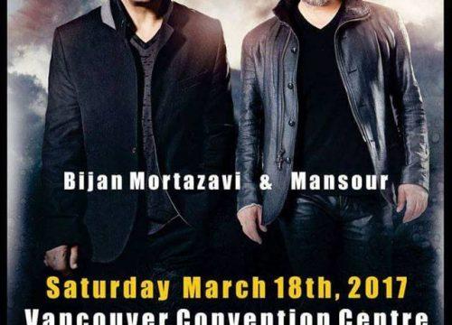 Bijan Mortazavi & Mansour Live In Vancouver
