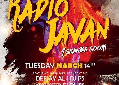 Radio Javan 4 Shanbe Soori Party Toronto