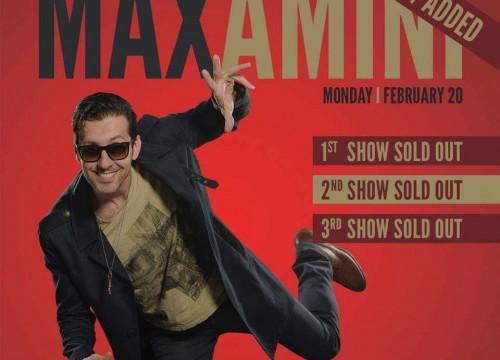 Max Amini Live In Toronto