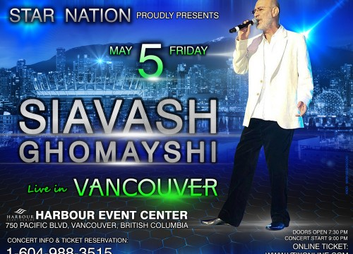 Siavash Ghomayshi in Vancouver