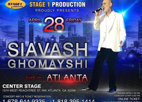 Siavash Ghomayshi In Atlanta