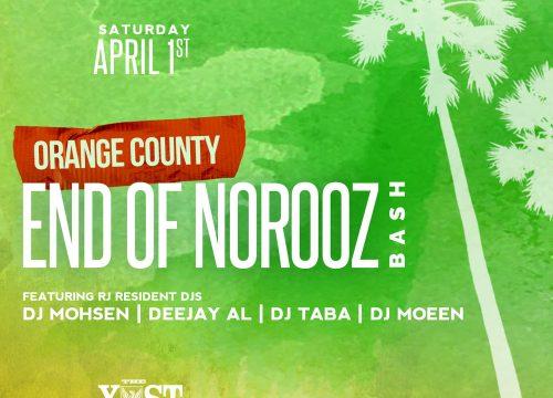 Radio Javan End of Norooz Bash Orange County