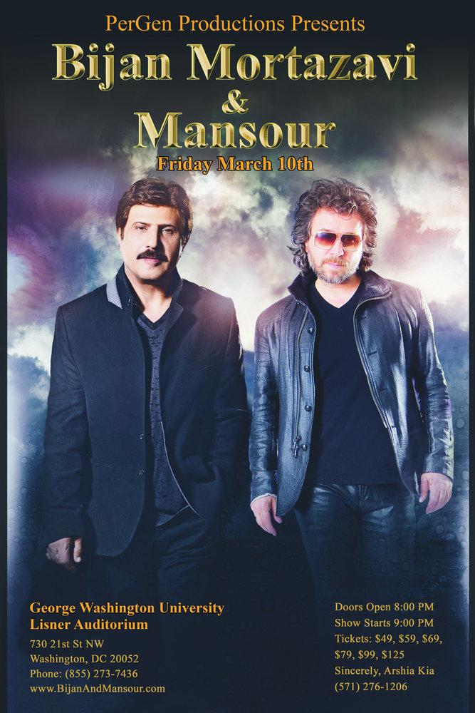 Bijan & Mansour Live in D C  - PersianEvents