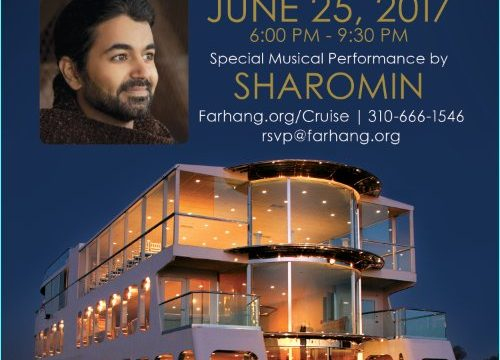 O.C. Fundraisering Sunset Cruise with Sharomin