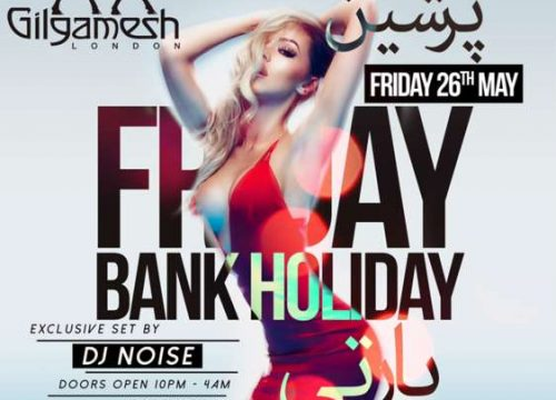 Persian Bank Holiday Party