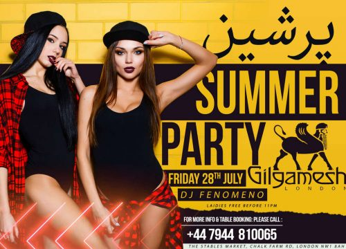 Persian Summer Party