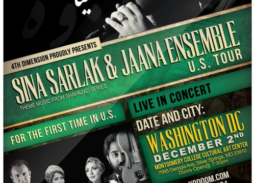 Sina Sarlak & Jaana Ensemble US Tour