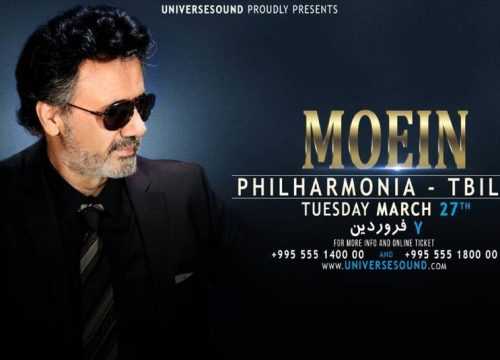Moein Live in Tbilisi