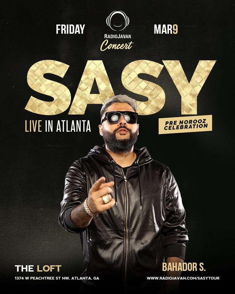 Radio Javan Concert Sasy Live in Atlanta - PersianEvents