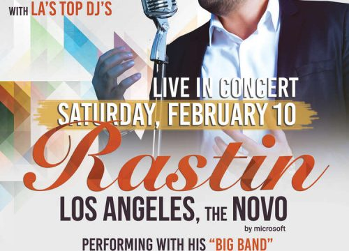 "Rastin Live in Concert ""Valentine Celebration"""
