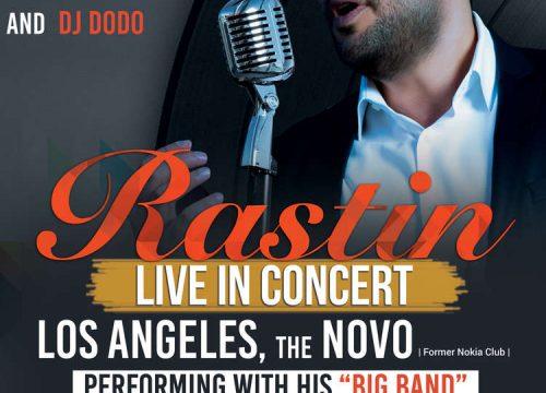 Rastin Live in Concert Valentine Celebration