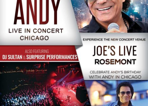 Andy Live in Chicago
