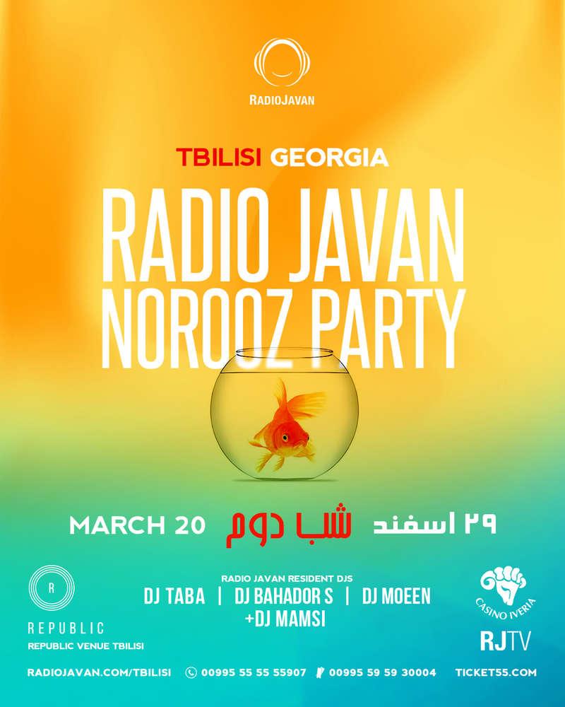 Radio Javan Norooz Party in Tbilisi Georgia - PersianEvents