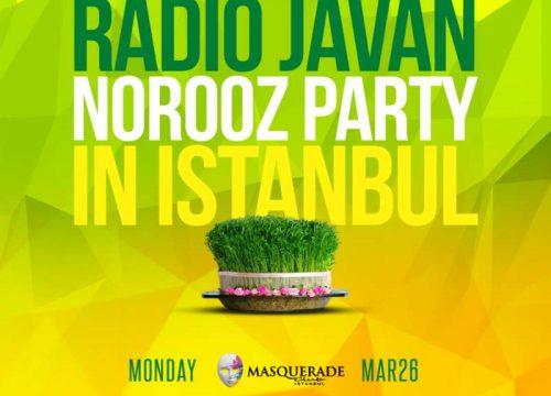 Radio Javan Norooz Party in Istanbul