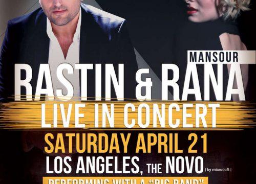 Rastin & Rana Mansour Live In Los Angeles