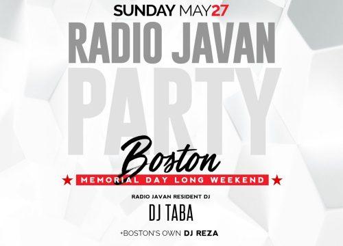 Radio Javan Boston Memorial Day Bash