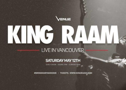 King Raam Live