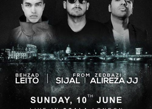 Behzad Leito, Sijal, Alireza JJ Live In London