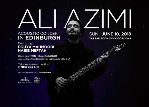 Ali Azimi Concert In Edinburgh