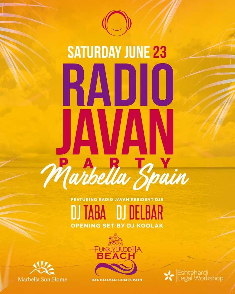 Radio Javan Summer Party in Marbella Spain - PersianEvents