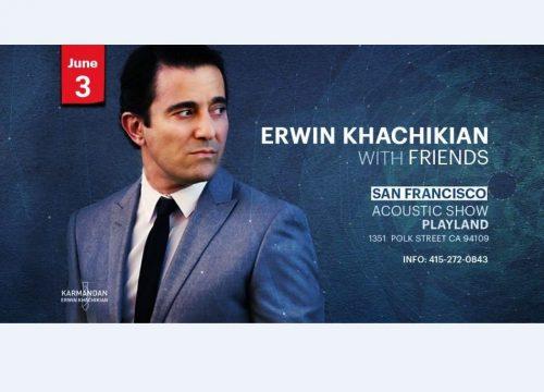 Erwin Khachikian Concert In San Francisco