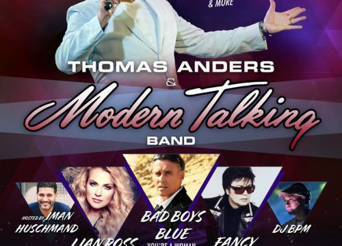 Thomas Anders & Modern Talking Live in DC