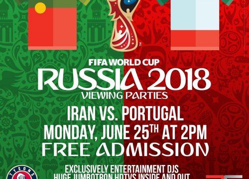 Iran vsPortugal World Cup  In DC