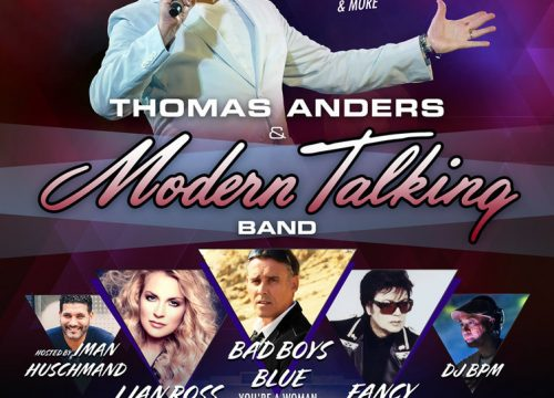 Thomas Anders & Modern Talking Live in LA