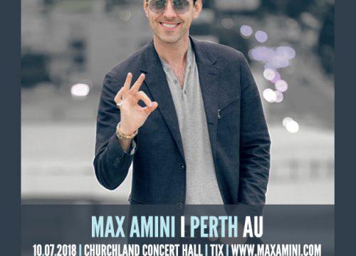 Max Amini Live in Perth