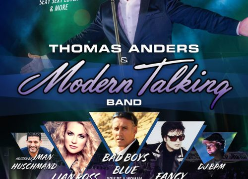 Thomas Anders & Modern Talking Live in Houston