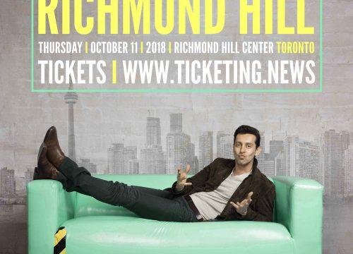 Max Amini Live in Richmondhill