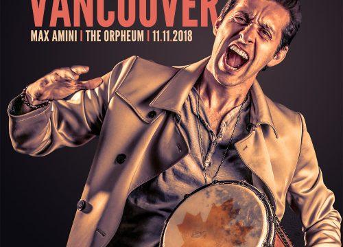 Max Amini Live in Vancouver