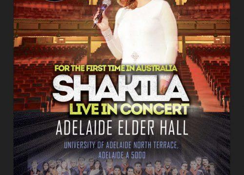 Shakila Live in Adelaide