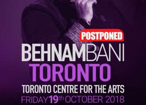 Behnam Bani Live In Toronto