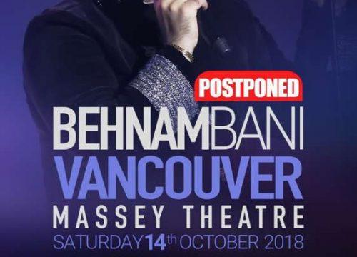 Behnam Bani Live In Vancouver