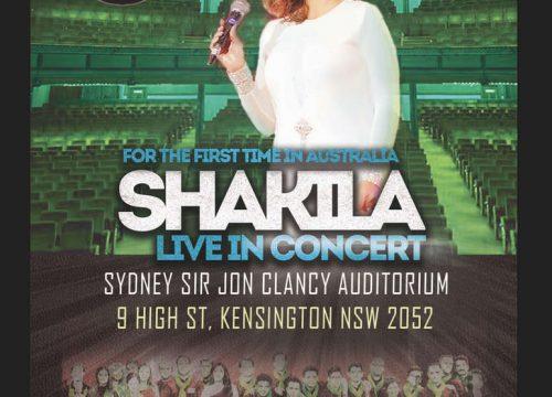 Shakila Live in Sydney