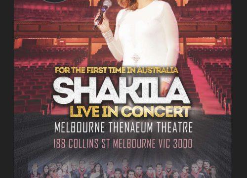Shakila Live in Melbourne