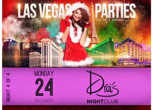 Las Vegas Xmas Party at DRAI'S