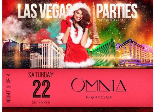 Las Vegas Xmas Party at OMNIA