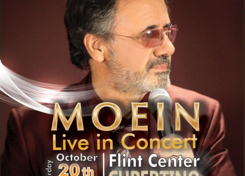 Moein Live In Cupertino
