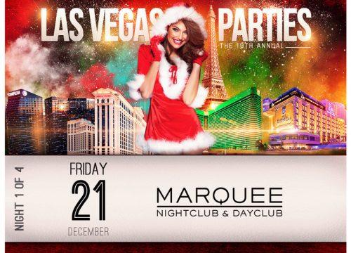 Las Vegas Xmas Party at MARQUEE