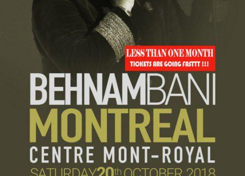 Behnam Bani Live In Montreal